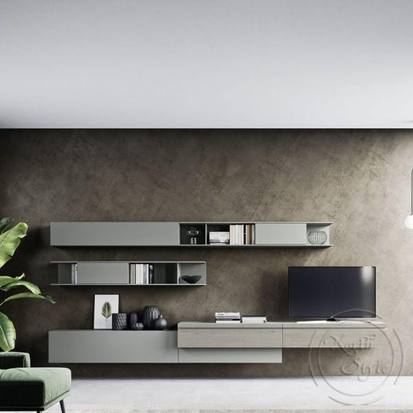 Модерна TV стенна композиция, DAY Comp. 05