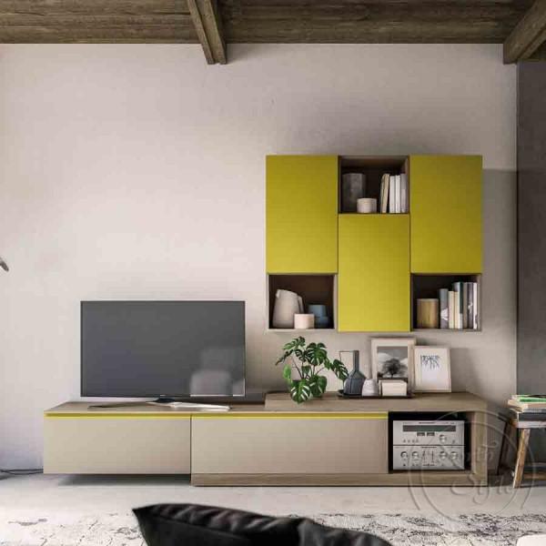 Италианска TV Секция в модерен стил, LIGHT DAY от 'Orme'