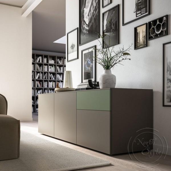 Италиански шкаф за всекидневна в модерен стил, LIGHT DAY от 'Orme'