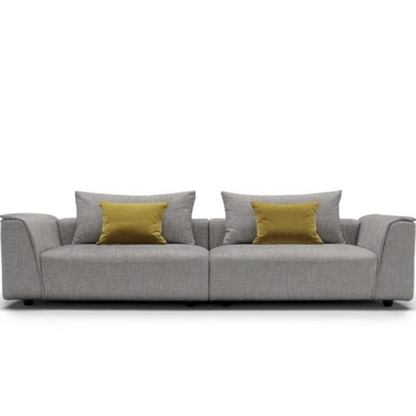 QUINTASTRADA - Разтегателен текстилен диван