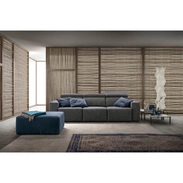 Модерен прав диван с подвижна облегалка, BEST