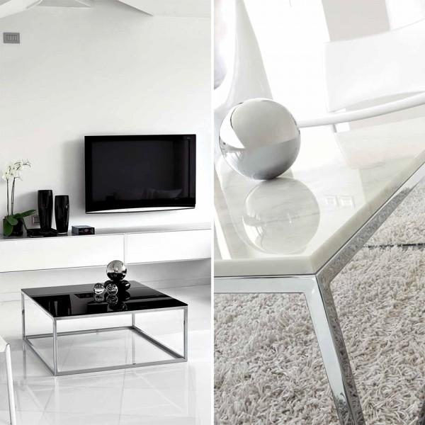 TVL037 - Дизайнерска маса за кафе с мраморен плот, LINEAR от 'Unico Italia'