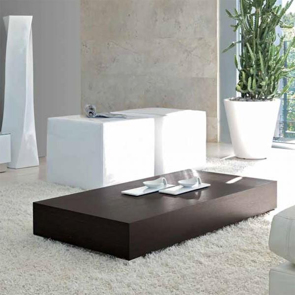 TVL043 - Модерна правоъгълна маса за кафе, STOP от 'Unico Italia'