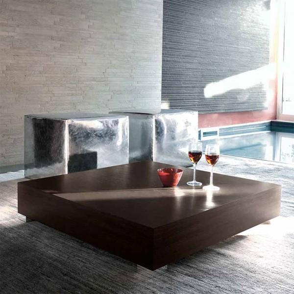 TVL044 - Квадратна маса за кафе с модерен дизайн, STOP от 'Unico Italia'