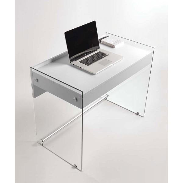 Бюро MYDESK с основа от стъклени панели