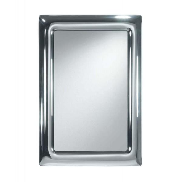 Модерно огледало CURVO с хромирана рамка