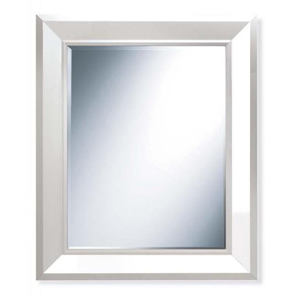 Огледало FLAT в бял финиш