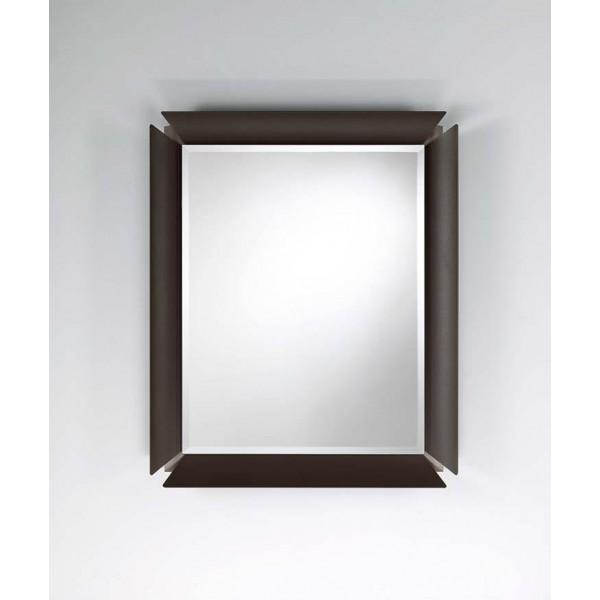 Огледало GLAM с матирана алуминиева рамка