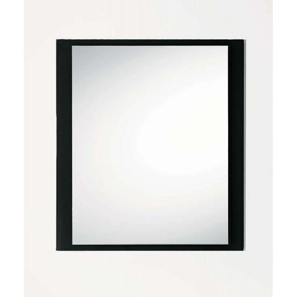 Огледало LINE с черна стъклена рамка