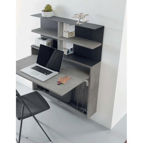 Сгъваема конзолна маса с библиотека BUREAU