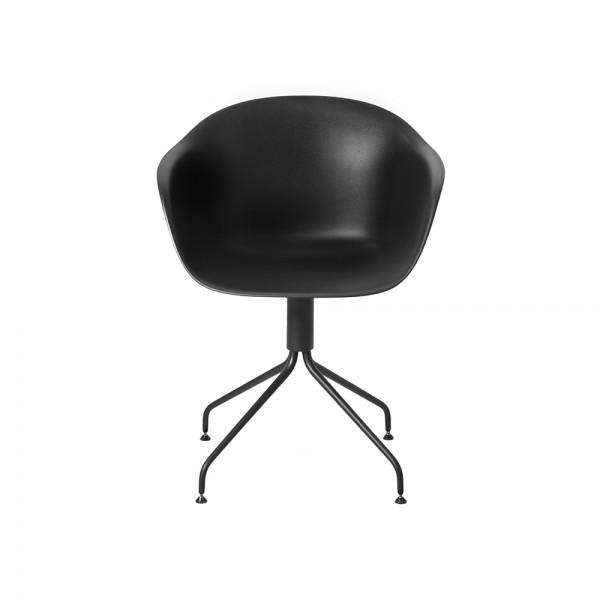 SMACK - Италиански трапезен стол с модерен дизайн - цвят черен